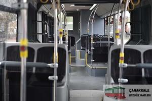 Çanakkale-otobüs-güzergah