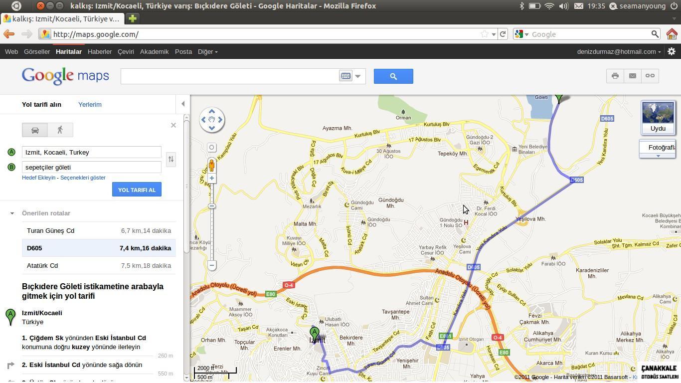 kocaeli'den çanakkale kaç km-2