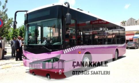 çanakkale ç 1 otobüs saatleri